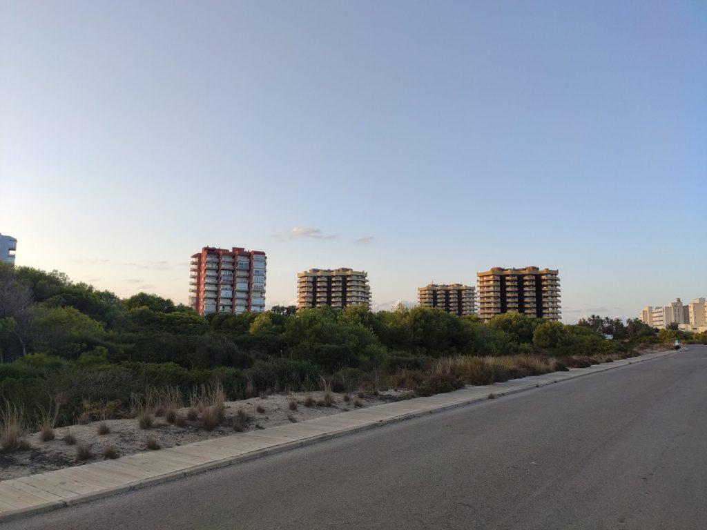 Urbanización en la dehesa del Saler Gavines