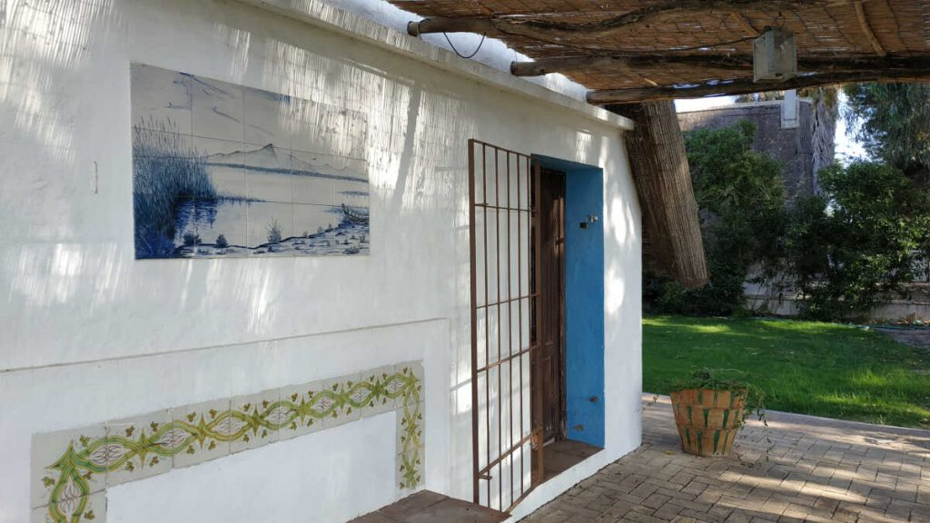 Barraca Valenciana por dentro