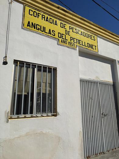 Gola del Perellonet, cofradía de pescadores